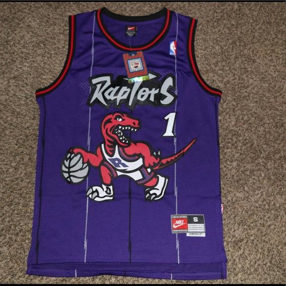 huge selection of 01f10 8c868 Tracy McGrady Toronto Raptors Jersey NWT